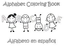 Alphabet Coloring Pages In Spanish Coloring Pages
