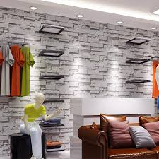 Small Picture Modern Vintage 3d Stone Wall Paper3d Brick Wallpapers Design