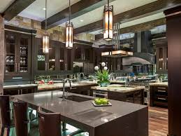 Kitchens With Black Granite Traditional Dark Brown Kitchen Cabinet Kitchen Color Ideas Light