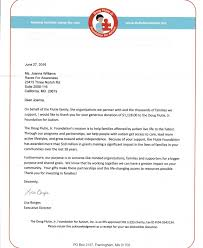 Charity Response Letters Races For Awareness
