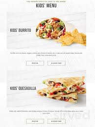 Mucho Burrito Gluten Free Chart Menu For Mucho Burrito Fresh Mexican Grill In London Ontario