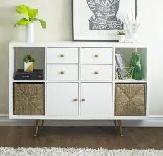 Diy Ikea Kallax Cabinet Hack