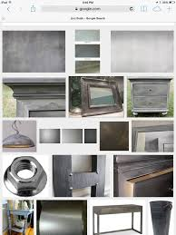 Zinc Finish Furniture Easy Zinc Finish On Wood Furniture The Weekend Country Girl
