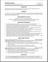 Engineering Resume Templates Word Sample Resume Cover Engineering