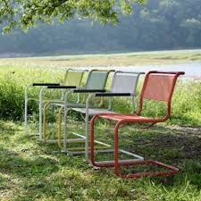 outdoor chairs and tables. Thonet Launches Colourful Outdoor Versions Of Iconic Bauhaus Chairs And Tables