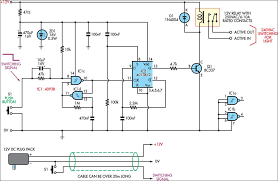 low voltage remote mains switch circuit diagram ece electronic low voltage remote mains switch circuit diagram ece