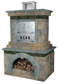 outdoor fireplace and pizza oven made outdoor fireplace pizza oven insert