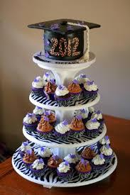 Graduation Cupcake Tower Cakecentralcom