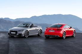 2017 Audi TT RS Coupe and Roadster Debut with 400 HP, No Manual ...
