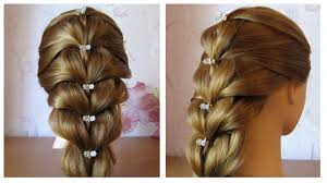 Tuto Coiffure Simple Cheveux Mi Long Long Tresse Facile Et