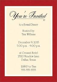 Format For Invitation Dinner Invitation Template Free Places To Visit Pinterest 1
