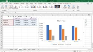 Make And Format A Column Chart In Excel