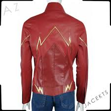 the flash jacket superhero