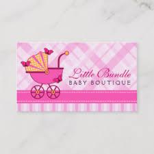 Baby Shop Business Cards Zazzle