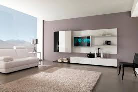 Wall Mount Tv For Living Room Contemporary Living Room Design Idea With Stunning Wall Mounted Tv