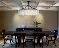 one other image of rectangular eating room chandelier