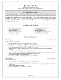 Office Administration Resume Examples Resume Templateor Office Assistant Administrative Template