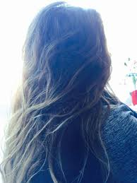 Beautiful Ombre Hair Dark Roots With