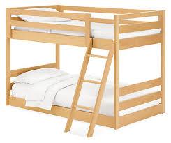 Waverly Kids' Mini Wood Bunk Bed - Modern Bunk Beds & Loft Beds ...