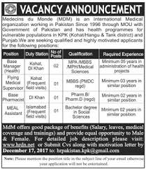 Base Manager, Flying Medical Supervisor, Pharmacist Jobs