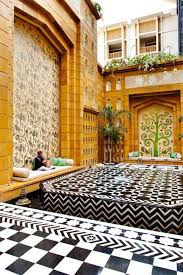 beautiful tile and wall pattern from elle decor magazine