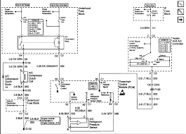 schematic of the a c electrical circuit for a 2000 gmc sonoma pickup full size image