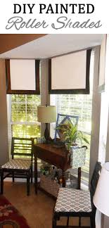 crisp roller shades are clean and classic