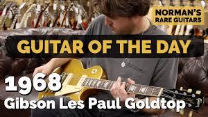 <b>Guitar</b> of the <b>Day</b>: 1968 <b>Gibson</b> Les Paul Goldtop | Norman's Rare ...
