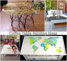 are you bored of your old coffee table if yes then it is the time to give it a makeover the easiest way to do this is painting it