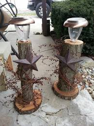 diy primitive outdoor decor nice idea using solar lights in diffe ways country on decoration primitive