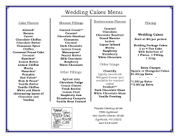 Cake Desserts Wedding Cake Flavors With Step By Recipes Best For