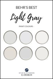 best behr light gray paint colours