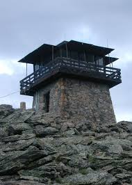 Lookout Tower Plans Stone Work On And Around The Building Fire Lookout Tower
