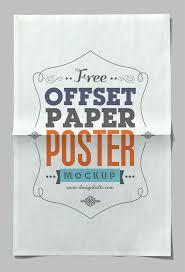 poster psd paper poster psd mockup download for free designhooks