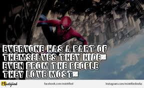 Spiderman Love Quotes Enchanting 48 SpiderMan Quotes 48 QuotePrism