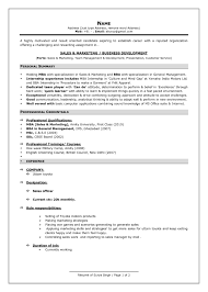 Latest Resume Format Sample For Study Template Experienced 4 Cv