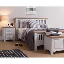 Devon 3 Drawer Bedside Table