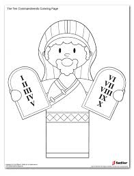 Commandments Coloring Pages For Free Ten Commandments Coloring in ...