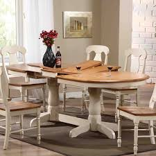 Oval Kitchen Table Pedestal Oval Dining Table On Hayneedle Oval Table