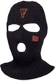 Ski mask features the embroidered heartbreak logo at the top near the forehead & embroidered sniper gang logo on. Amazon Com Ski Masks
