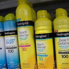 J&J Recalls Aveeno, Neutrogena Spray ...