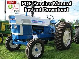 ford commander tractor service manual com ford commander 6000 tractor service manual