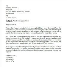 Letter Of Appeal Sample Template Unique Academic Appeal Letter Format Image Collections Letter Format