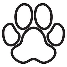 tiger paw clipart black and white. Beautiful Tiger With Tiger Paw Clipart Black And White F