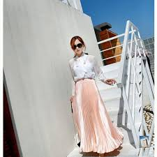 Vintage Silver Golden flared Maxi Skirt | womens fashion in 2019 ...