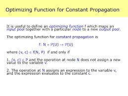 Constant Propagation In Compiler Design Ppt Data Flow Analysis 4 15 411 Compiler Design Powerpoint