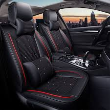 luxury car seat covers seats protector cushion mats auto accessories for land rover evoque discovery 3 4 land rover freelander 2 best of popularity iyh7