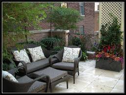 green roof garden design with polished granit flooring customized planters sized for trees and