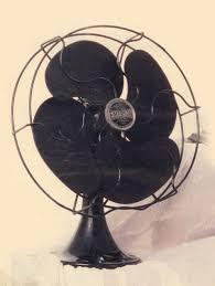 westinghouse oscillating fan circa 1940s