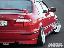 honda civic 2000 modified. Contemporary Modified 2000 Honda Civic LX Sedan SiR Rear Bumper Inside Honda Civic Modified O